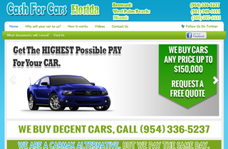Cash For Cars Florida -JTR Motors